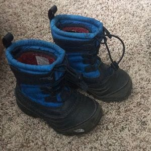 Waterproof North face insulated boots size 10